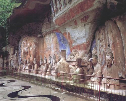 Dazu rock carvings chongqing
