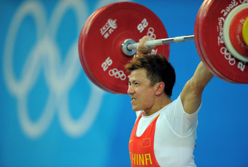 Veteran lifters continue China's dominance in weightlifting