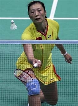 Woman, 97, pedals 2,400km by to watch badminton