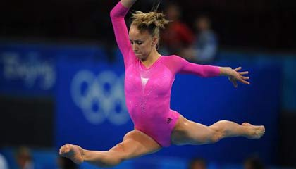 Nastia Liukin wins women's gymnastics all-around gold