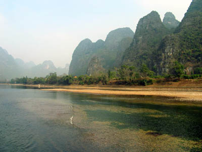 Guilin to Yangshuo (B, L)