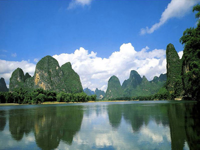 Guilin to Yangshuo (B,L)