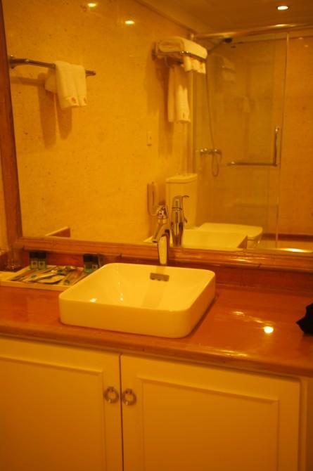 WC of Standard Cabin
