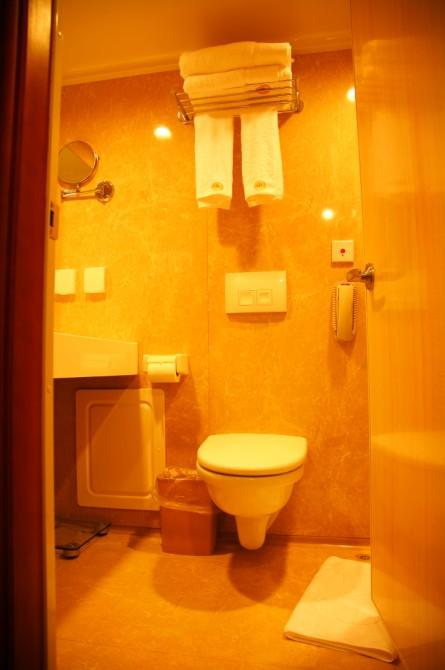 WC of Standard Cabin