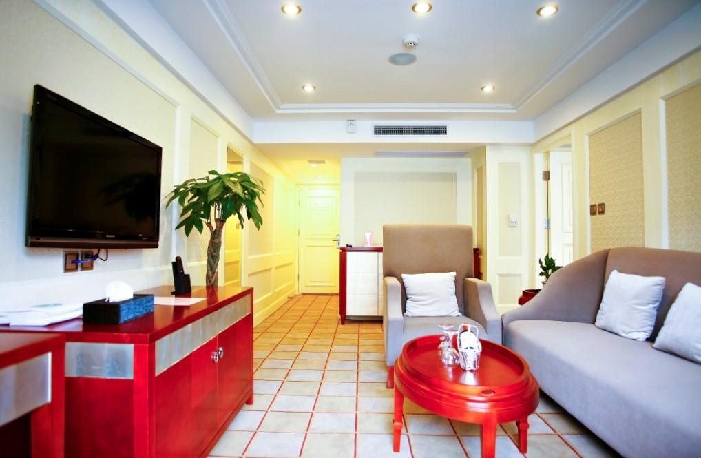 Sitting Room of Deluxe Suite