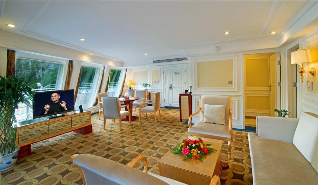 Sitting Room of Presidential Suite