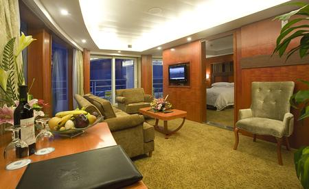 Sitting Room of Presidential Suite
