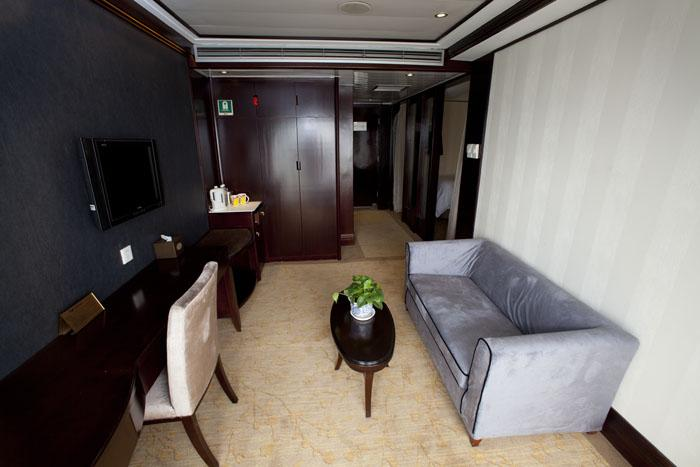 Sitting Room of Executive Suite