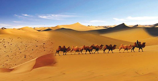 An itinerary to explore beautiful scenery along the Silk Road