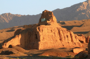 Subashi Ancient City Ruins in China's Xinjiang