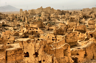 Ancient City of Jiaohe in China's Xinjiang