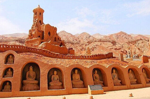 Bizaklik Thousand Buddha Caves in China's Xinjiang