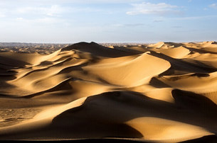 Taklamakan Desert in China