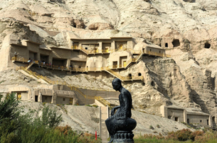 Kizil Thousand-Buddha Caves in China's Xinjiang