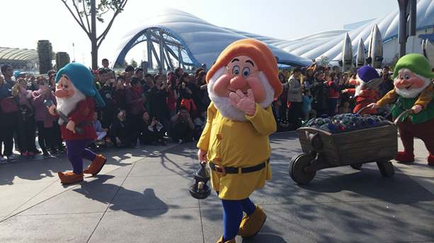 Can not miss Shanghai Disneyland, China