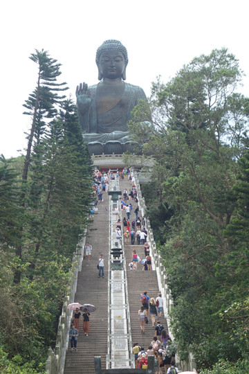 The 268 steps to reach the Big Buddha