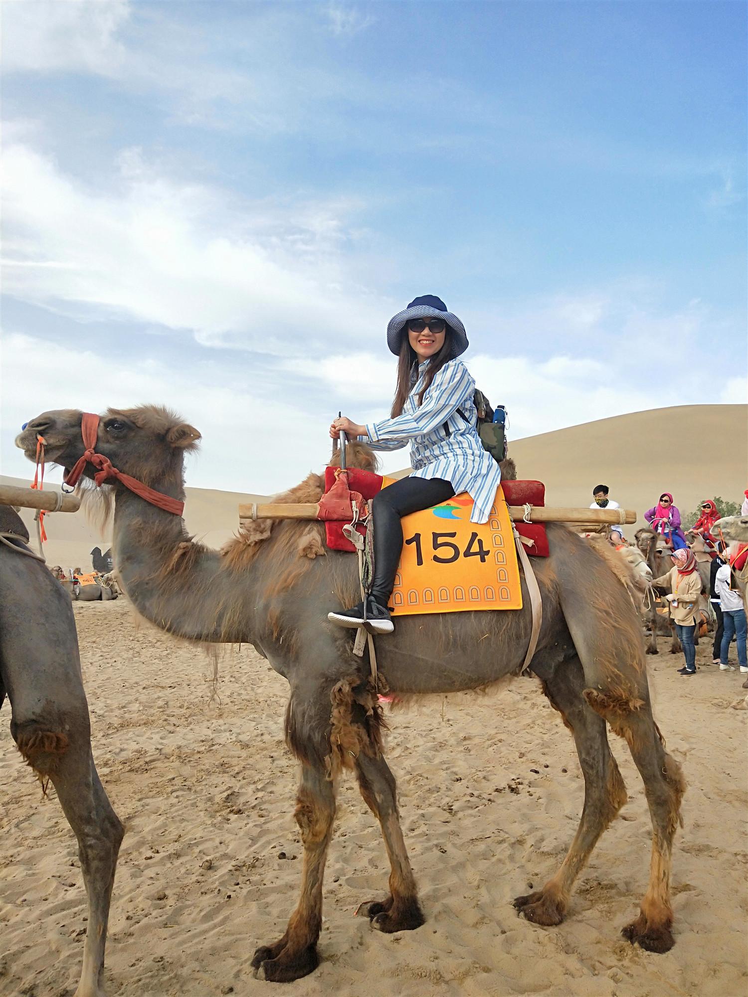 My Silk Road tour –Singing Sand Mountains & Crescent Moon Spring & Yangguan Pass