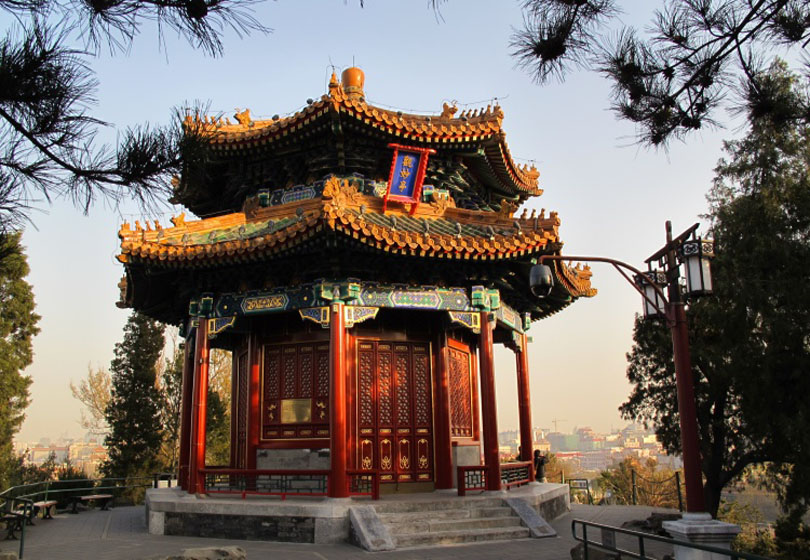 Beijing Jingshan Park Beijing, Beijing Attraction