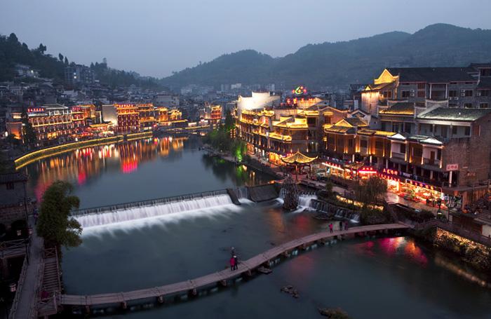 Fenghuang Ancient Town Phoenix Ancient City Hunan