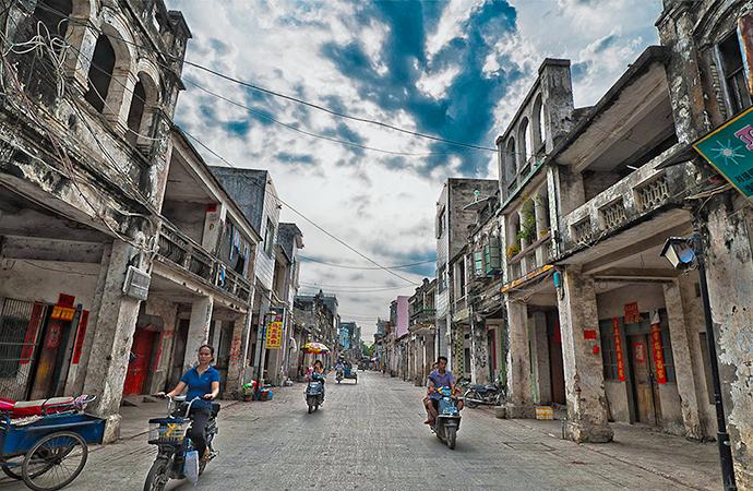 Qilou Old Street Haikou Haikou Attraction