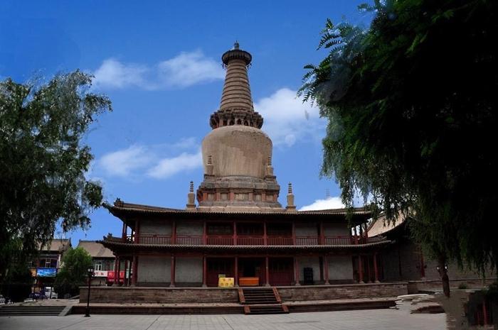 Giant Buddha Temple Zhangye Zhangye Attraction