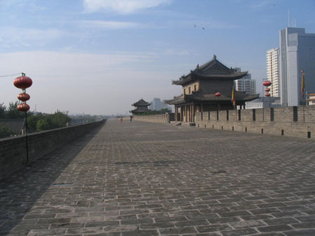 Ancient City Wall,Xi'an Tours,China Tours