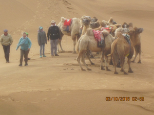 Tengger Desert in China
