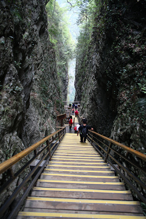 Zhangjiajie Grand Canyon Scenic Area