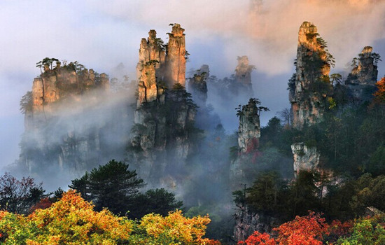 Zhangjiajie in China