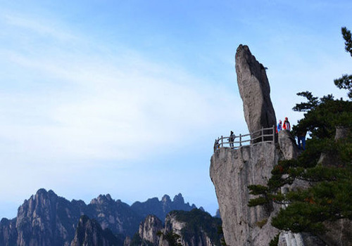Bizarre rock of Huangshan Mountain