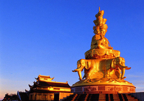The Gold Summit of Mount Emei