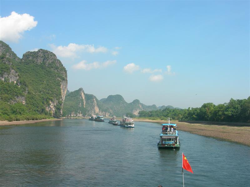 Li River Cruise,Yangshuo Tours, Guilin Tours,China Tours