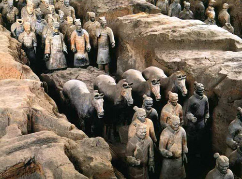 Terra Cotta Warriors and Horses,Xi'an Tours,China Tours