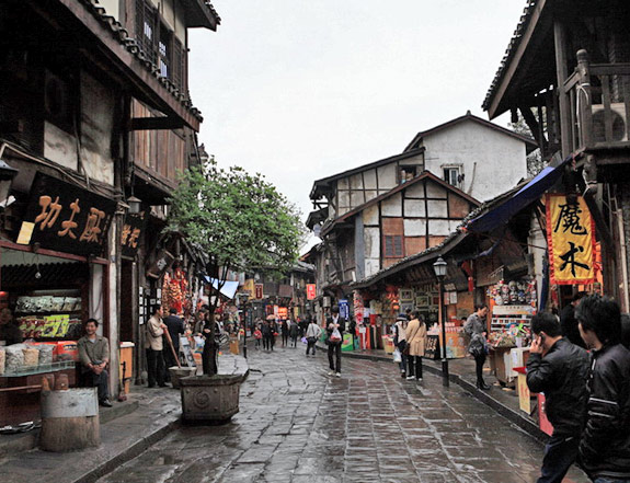Ciqikou Ancient Town,Chongqing Tours,China Tours