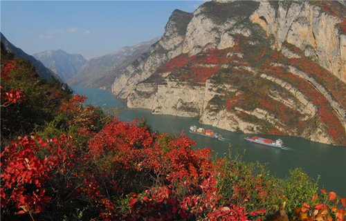 Wu Gorge of Three Gorges in China