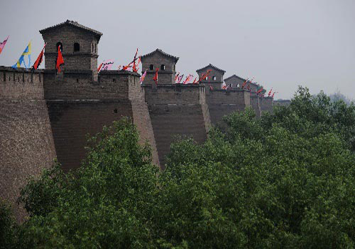 The Ancient City Wall of Pingyao is known as one of the four most preserved ancient city walls around China.