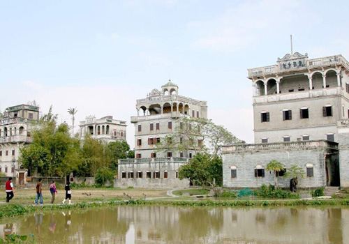 A visit of Kaiping watchtowers in China's Guangdong Province