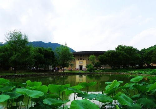 One day essence Tulou tour in Hongkeng, Yongding