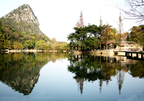 a glimpse of Guilin city