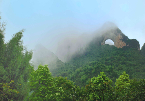 Moon Hill of Yangshuo