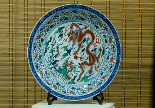 Jingdezhen is known as the capital of porcelain around China.