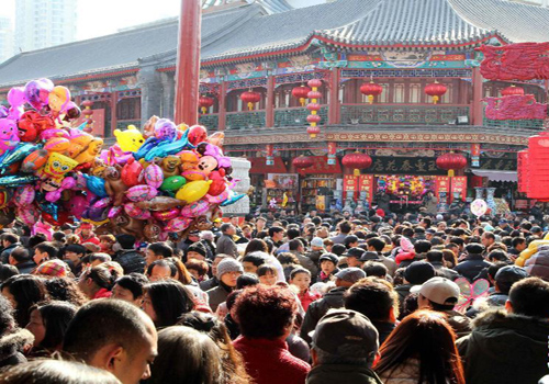 China sees 76m tourists during Spring Festival holiday