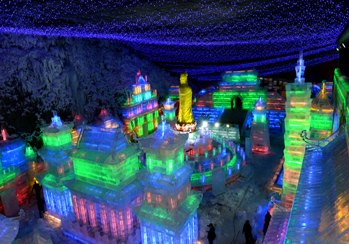 Yanqing ice, snow festival on going