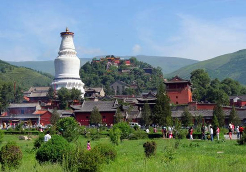 Mountain Wutai to improve environment