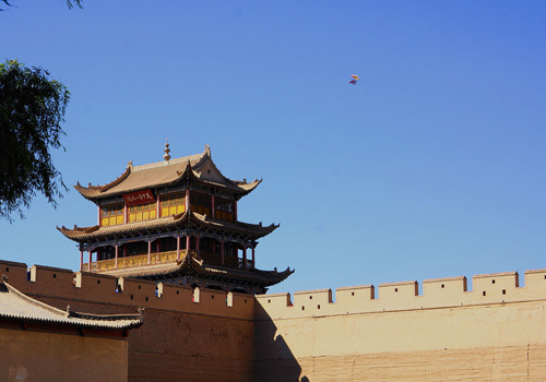 Jiayu Pass in China's Gansu