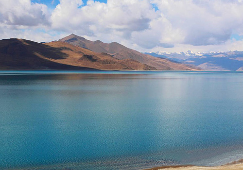 Bewitching Namtso Lake in Tibet