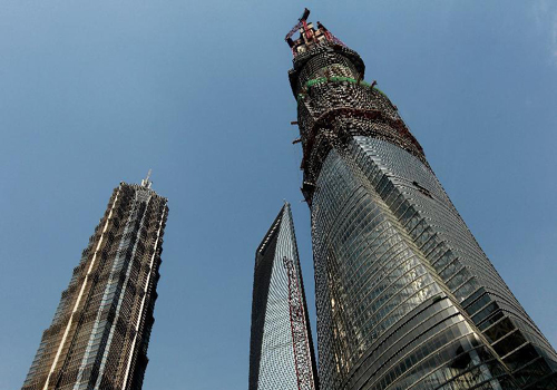 Shanghai Tower, tallest skyscraper in China