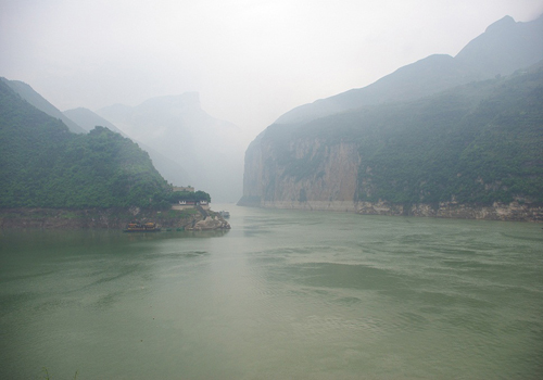 Beautiful scenery of Three Gorges