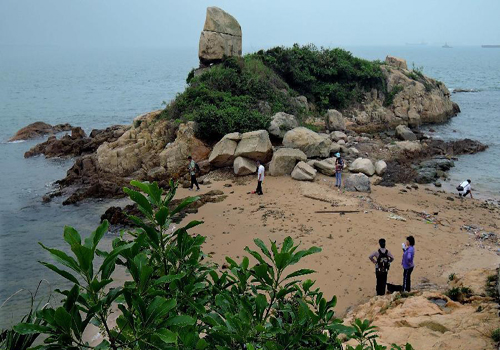 Scenery of Ping Chau Island in HK