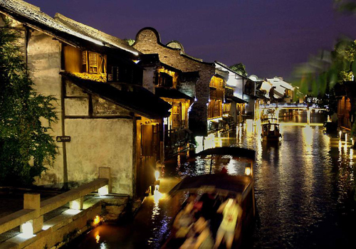 Picturesque ancient towns in China